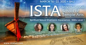 Returning to the sacred land of Bali for ISTA in March 2020!