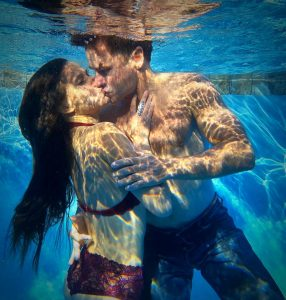 Surrendering into the watery depths of love [underwater photography]