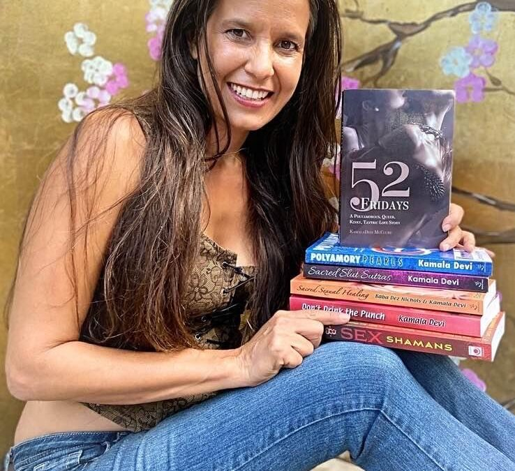 '52 Fridays' A Polyamorous, Queer, Kinky, Tantric Love Story finally available in paperback!