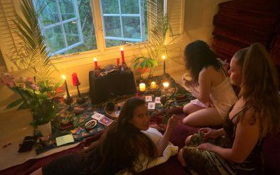 New Moon Manifestation Ceremony: Vulnerable Updates & Prayer Requests